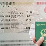 MẪU ĐƠN XIN VISA TRUNG QUỐC